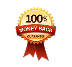Customer Service 100% Money Back Logo