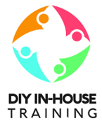 DIY In-House Training Logo on Customer Service PPT Home Page