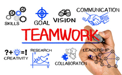 Teamwork Graphic